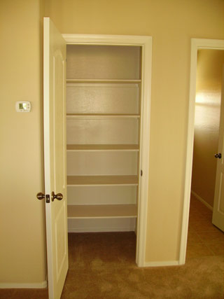 Silver bear properties for Ample closet space